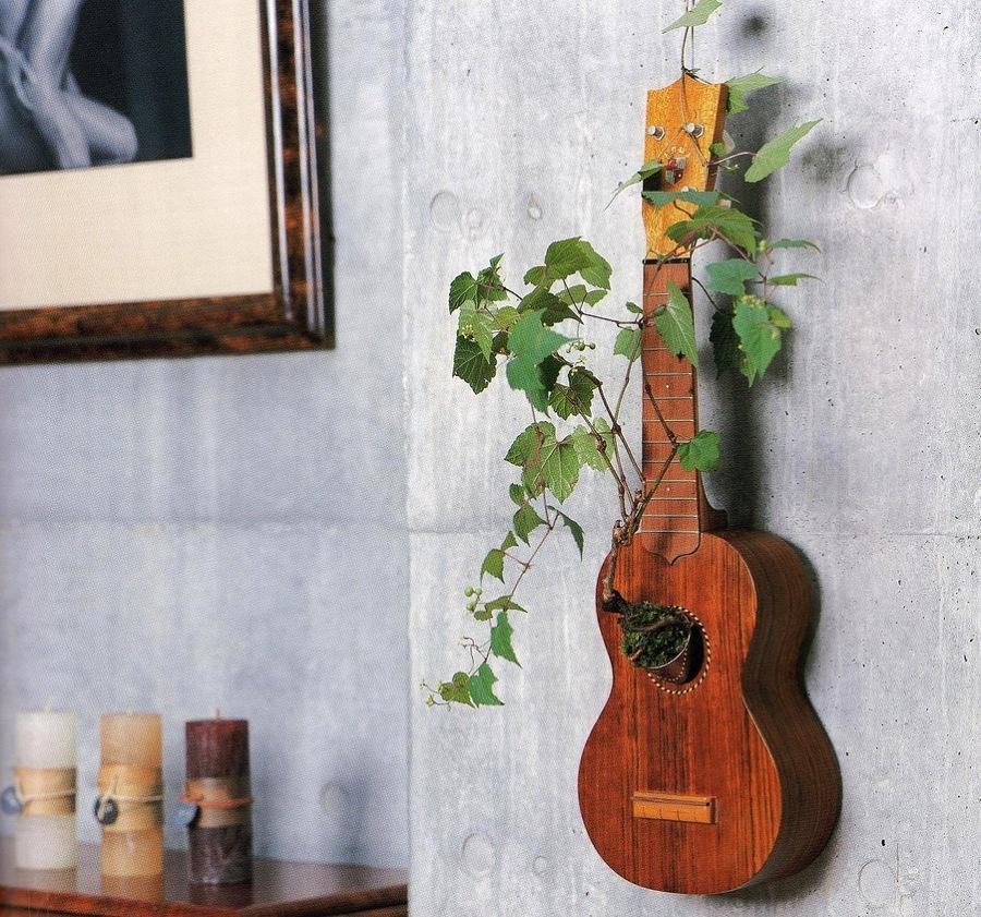 guitarra jardín
