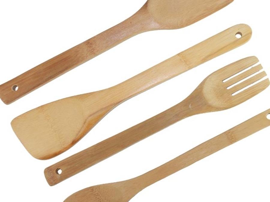 C mo limpiar utensilios de madera ideas limpieza - Limpiar cocina de madera ...