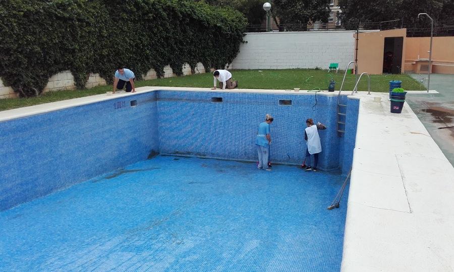 vaciado de piscina