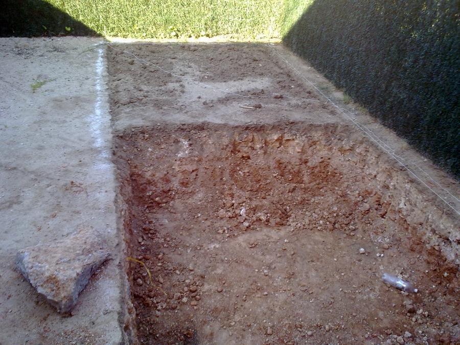 Construcci n de piscina de obra ideas construcci n piscinas for Vaciado de piscina