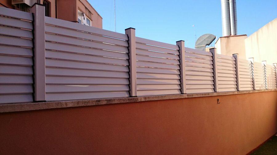 Vallas de aluminio ideas toldos - Vallas para parcelas ...