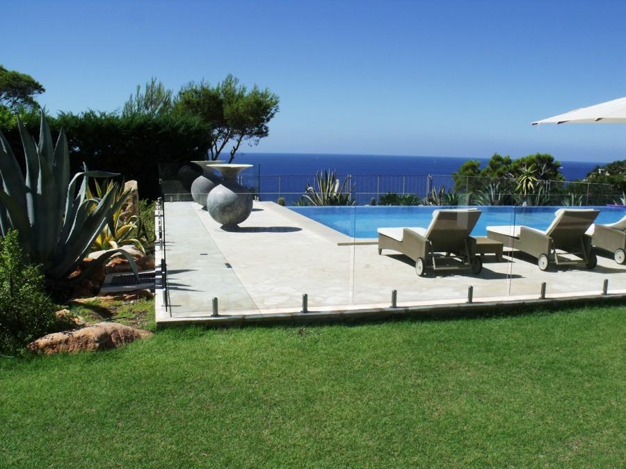 Vallado de cristal Ibiza