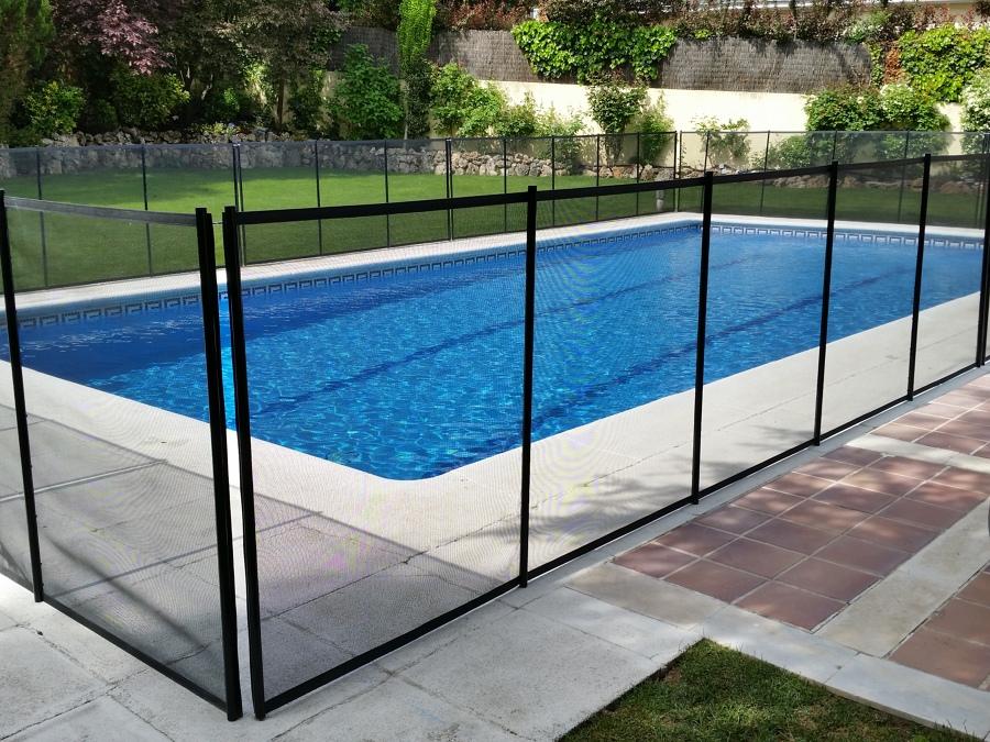 Foto vallado de piscina de newhome 995657 habitissimo - Piscina de cristal ...