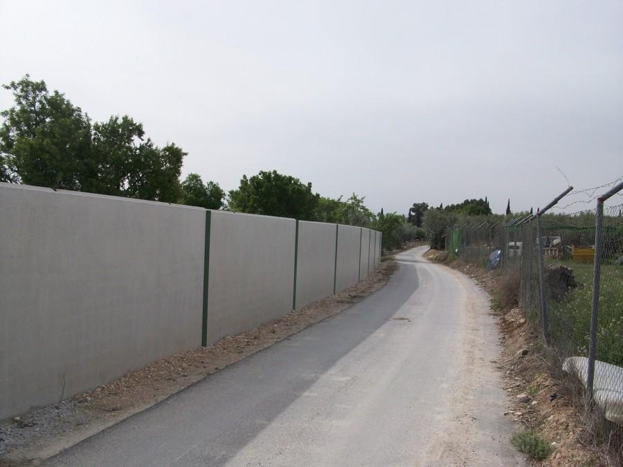 Muro de cerramiento en parcela r stica ideas obra civil - Precio vallar terreno ...