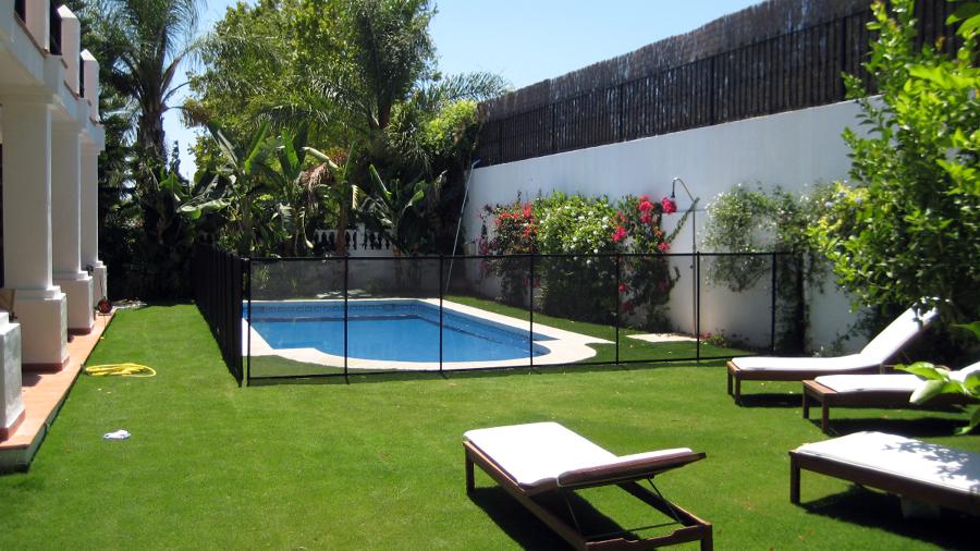 Foto vallas para piscinas desmontables de for Piscinas desmontables valladolid