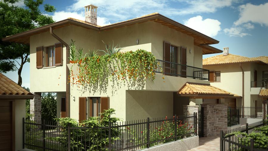 varios proyectos exteriores fachadas jardines y piscinas