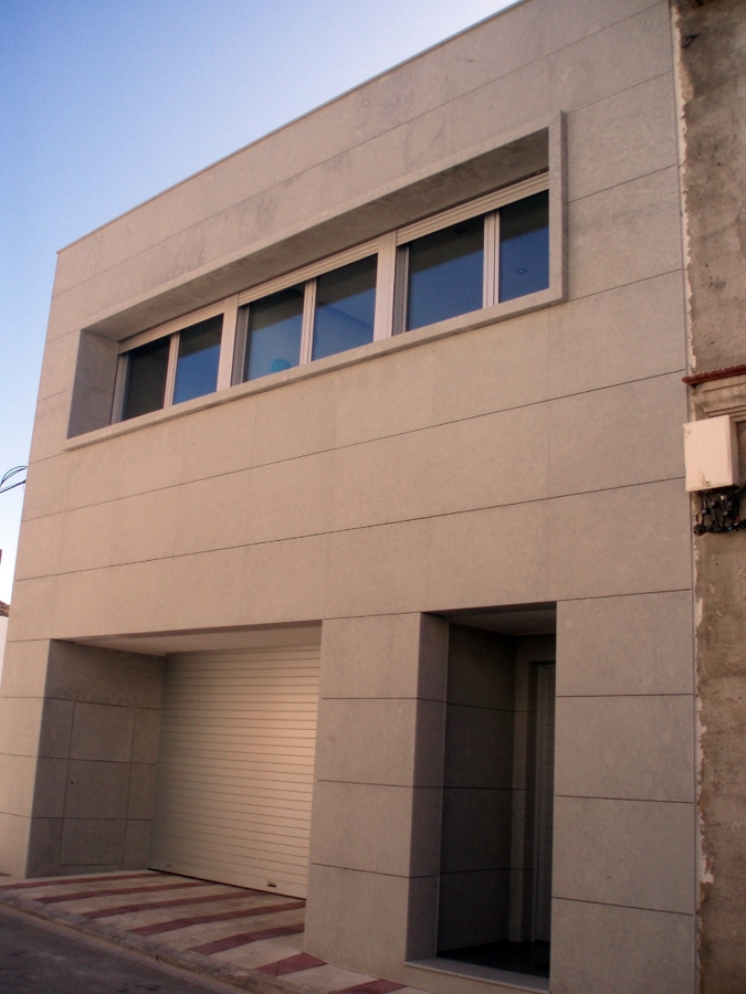 Aplacado fachada de piedra ideas marmolistas - Aplacado piedra fachada ...