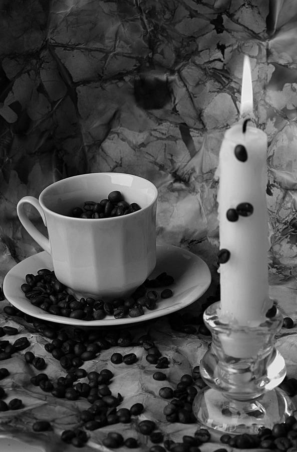 Vela y café