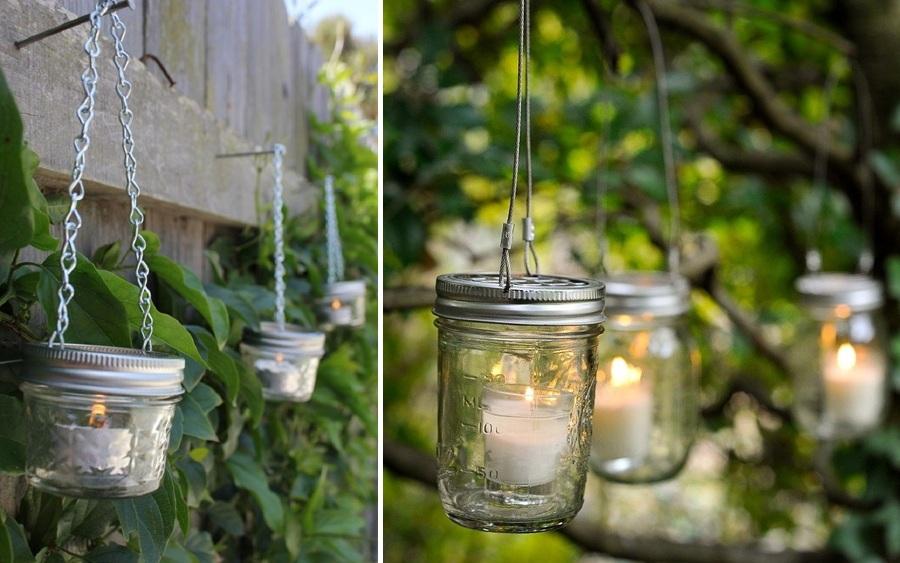decora con velas el exterior crea ambientes para tus