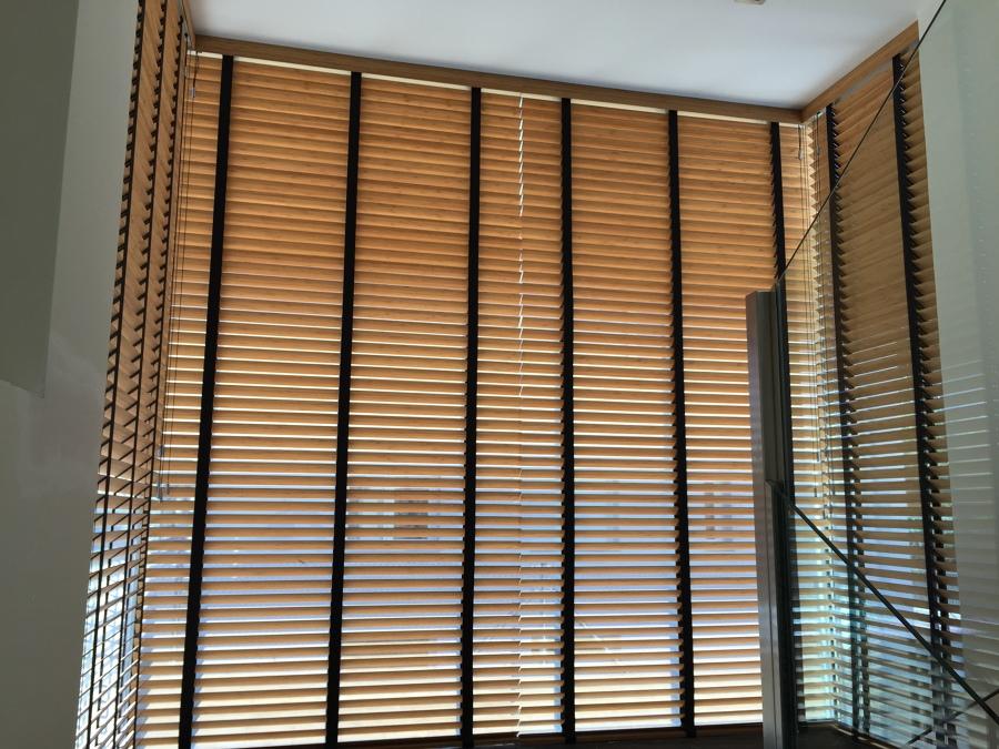 Cortinas venecianas de madera ideas art culos decoraci n - Cortinas venecianas madera ...