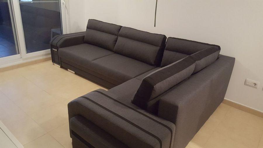Venta, instalación de un sofá riconera en la región de Murcia. Foto 1