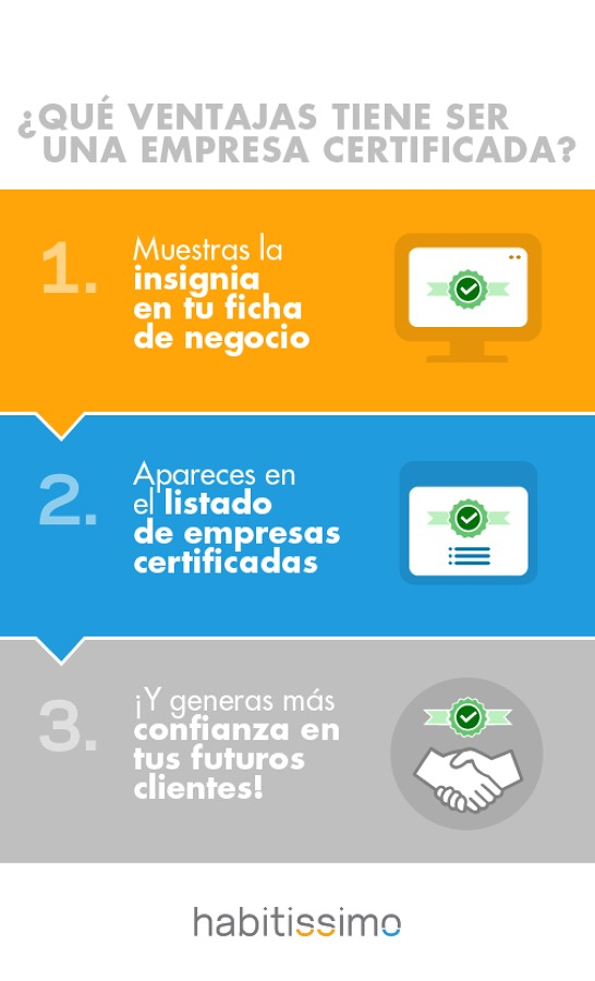 Ventajas Empresa Certificada