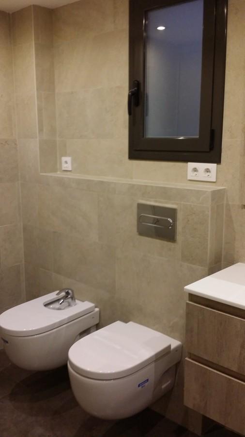 Ventala Aluminio Baño con Cerradura  de Seguridad.
