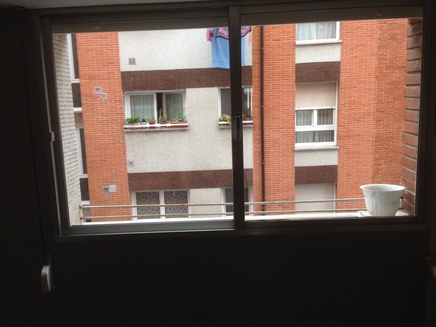 ventana aluminio antigua