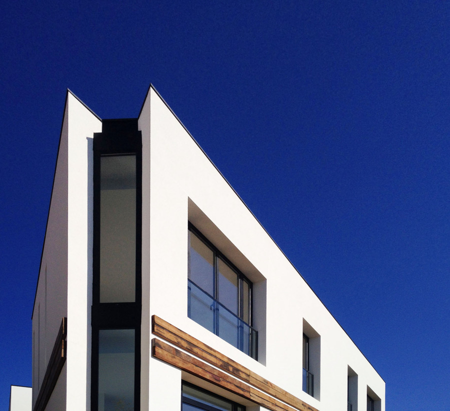 Ventana en esquina - Casa A | 08023 Arquitectos - Barcelona