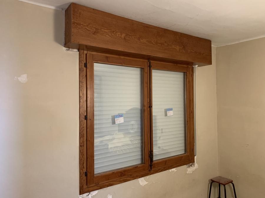 Ventana habitación con doble vidrio climalit 4-8-4