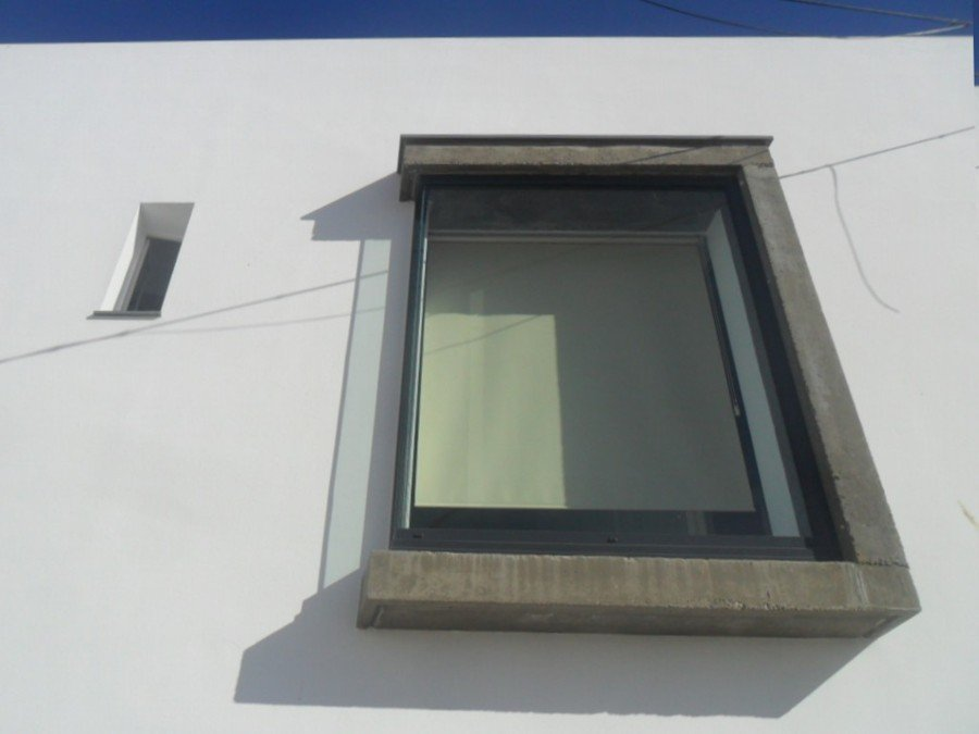ventana saetera y rectangulón