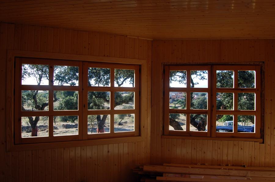 ventanal salón