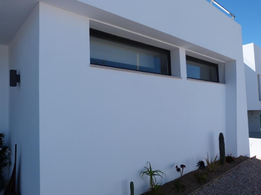 ventanas aluminio RPT batientes motorizadas