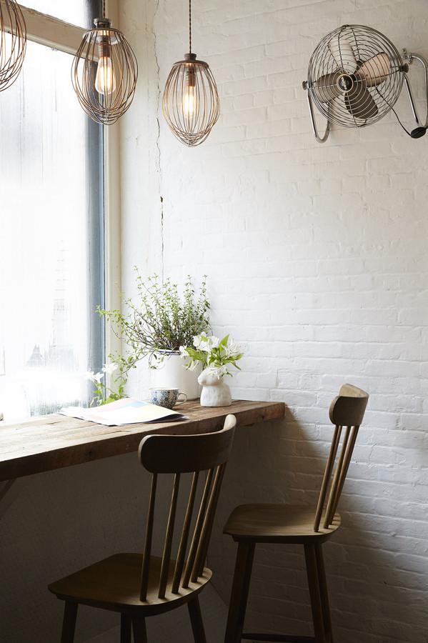 Ventiladores vintage que refrescan la decoraci n del hogar - Ventiladores silenciosos hogar ...