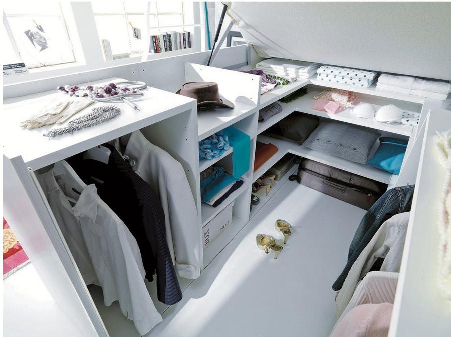 C mo distribuir el dormitorio si quieres un vestidor - Armarios con espejo para dormitorio ...