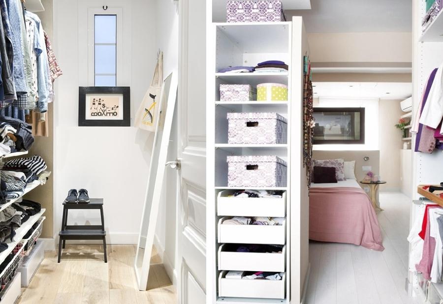 5 ideas para montar un vestidor en casa ideas decoradores for Roperos para cuartos pequenos