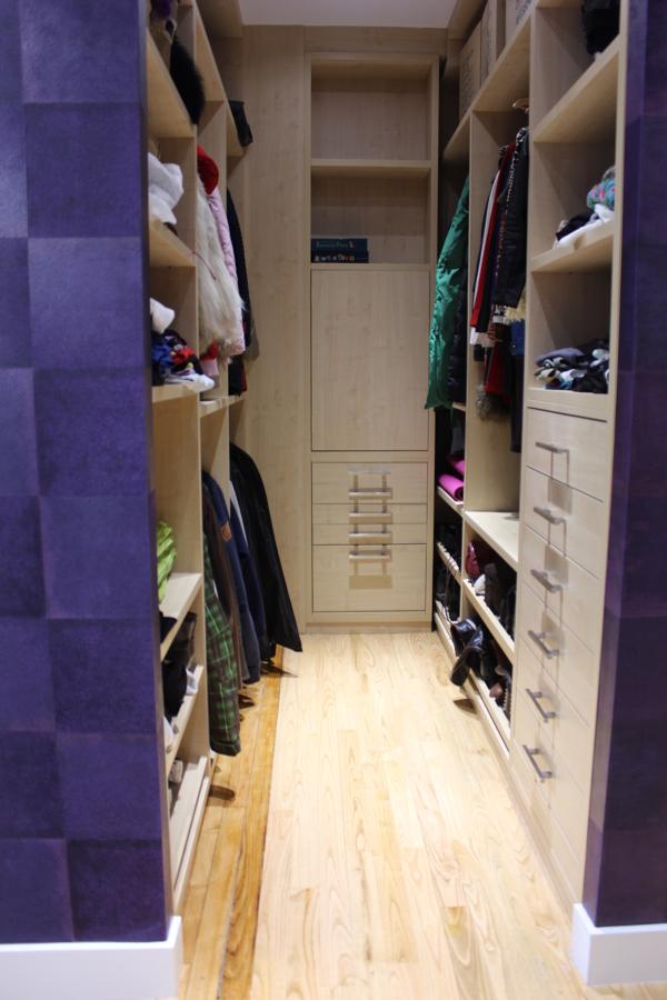 Vestidor de dormitorio principal