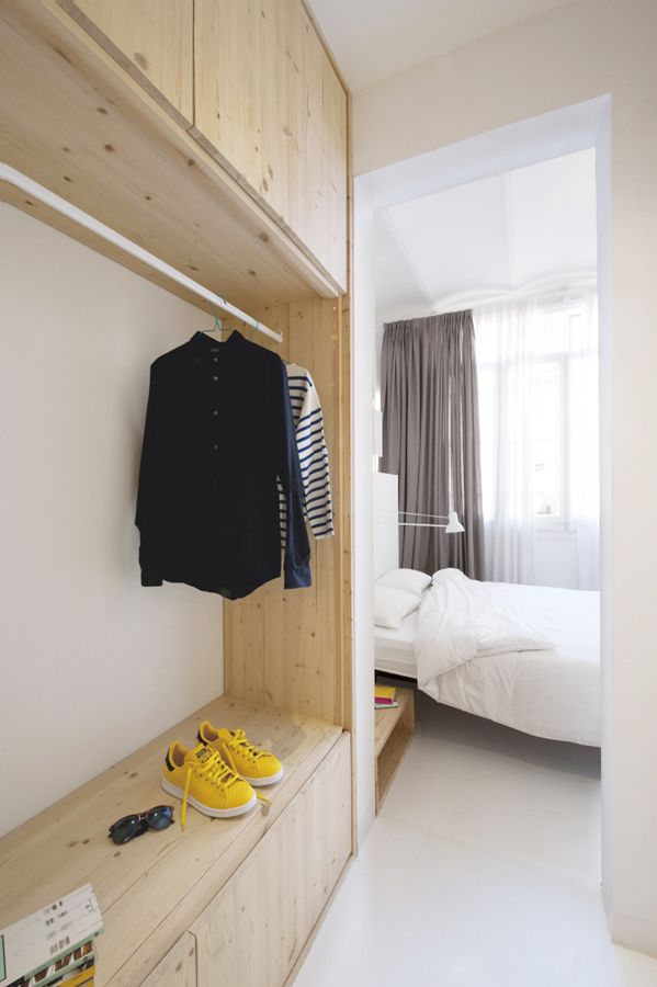 vestidor de pino a medida