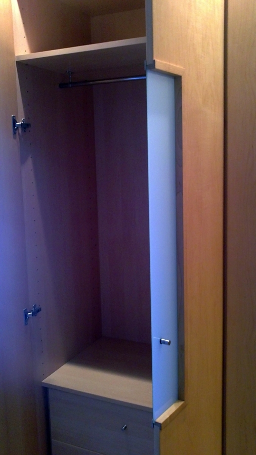 vestidor maple