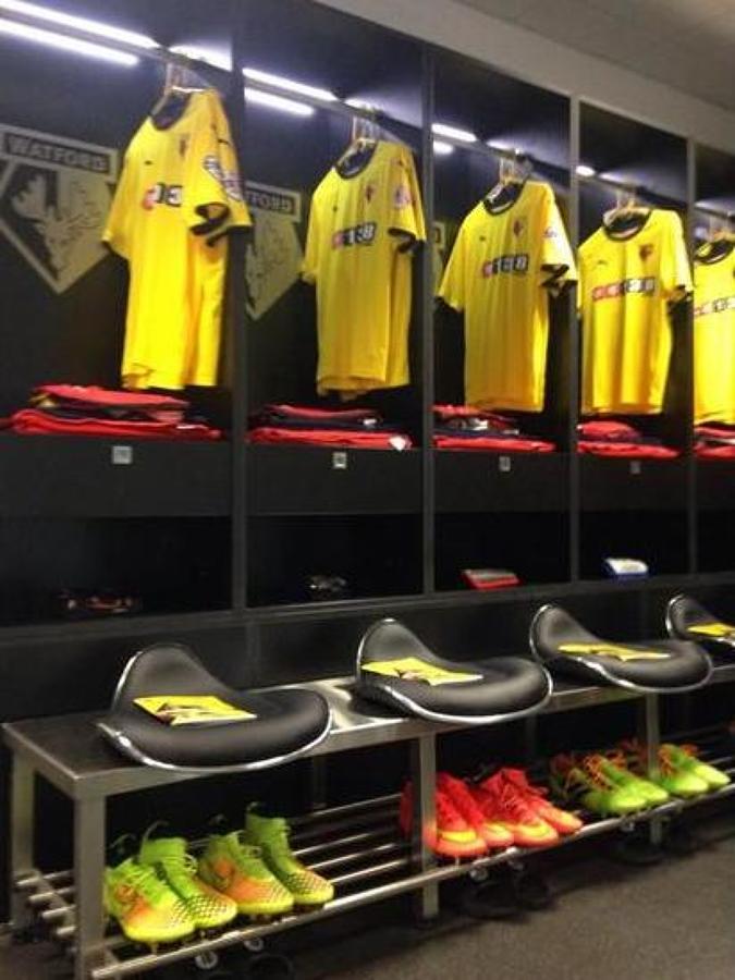 Vestuario del FC Watford