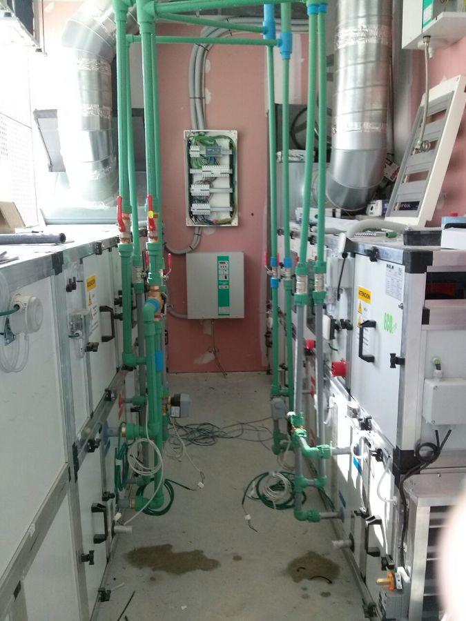 Vesya general de pasillo de sala de máquinas