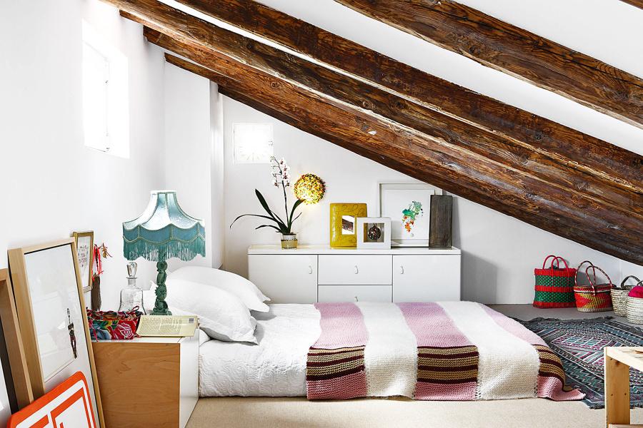 C mo integrar vigas a la vista en la decoraci n de tu casa for Tejado de madera o hormigon