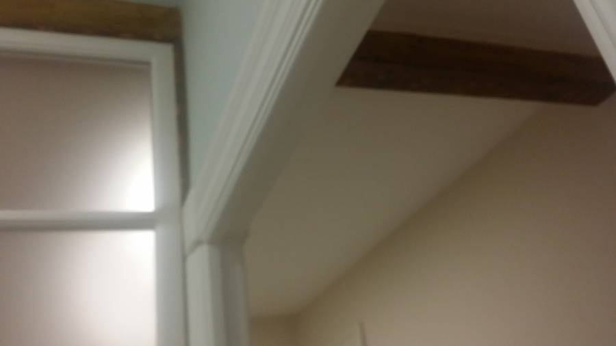 Vigas de madera originales, recuperadas