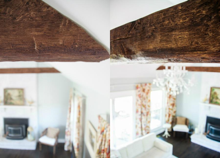 Vigas de madera no podr s dejar de mirar al techo ideas - Vigas decorativas ...