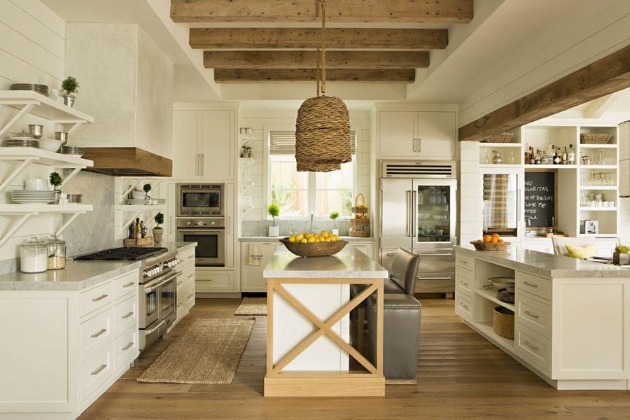 Foto vigas madera en cocina 3 de miriam mart 806935 habitissimo - Vigas de madera malaga ...