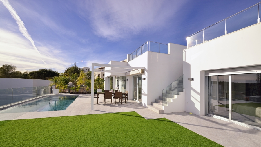 exterior vivienda moderna