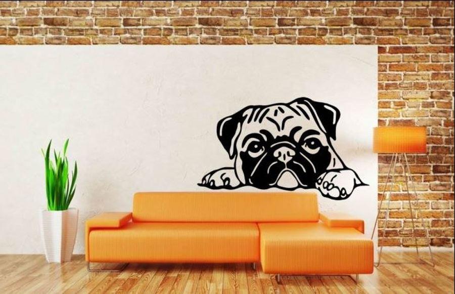 Vinilo Cachorro Bulldog
