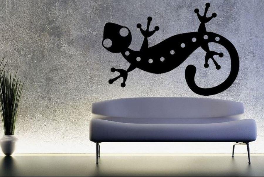 Vinilo decorativo juvenil Salamandra con encanto