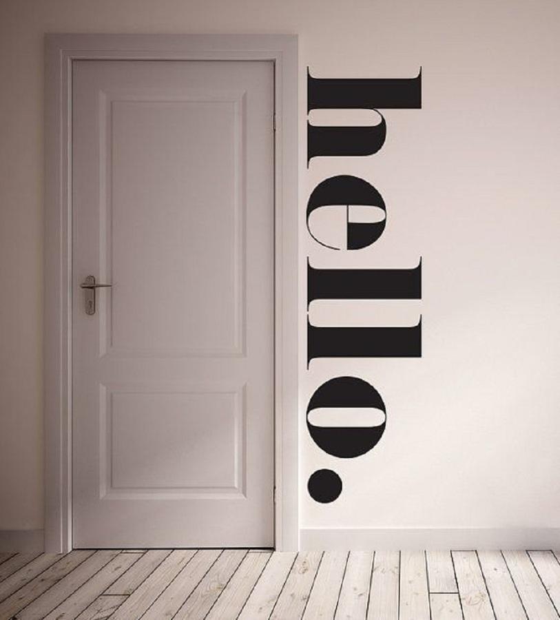 Trucos para decorar tu casa si vives de alquiler ideas - Vinilos en puertas ...