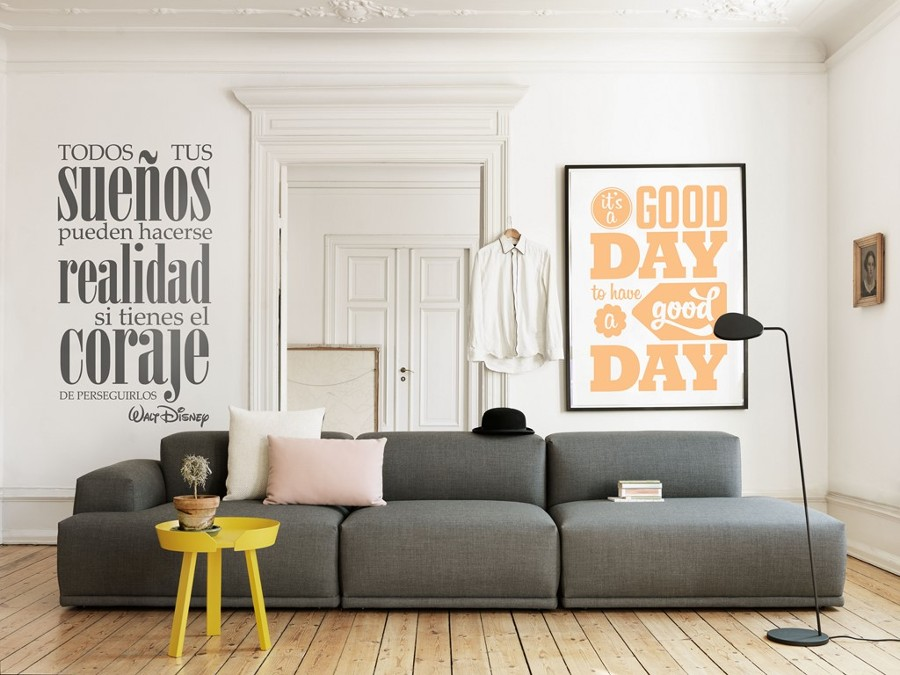 C mo decorar low cost sin parecer cutre ideas decoradores - Como decorar una pared blanca ...
