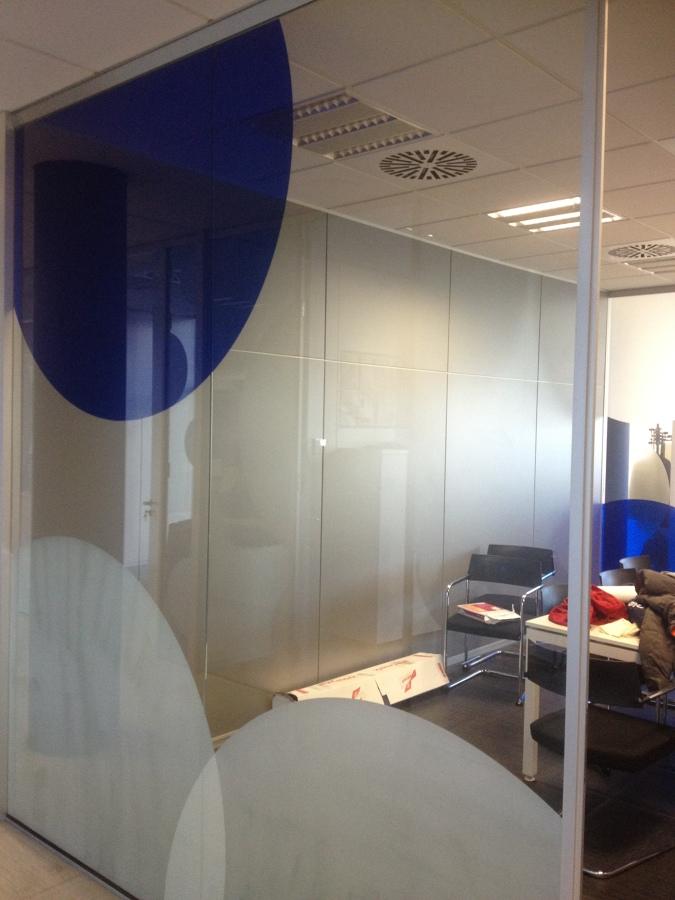 Trabajos realizados ideas decoradores - Vinilo para vidrios ...