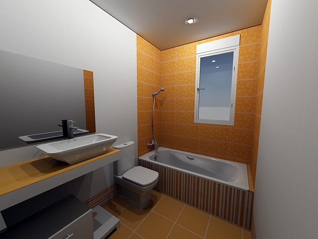 Vista 1 baño