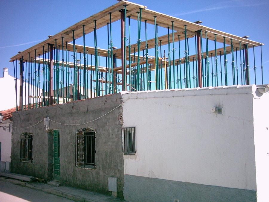 Vista 2 del fojado de cubierta