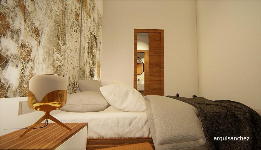 Vista 3d habitación