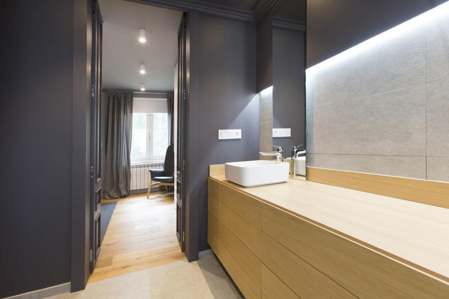 Vista baño - dormitorio