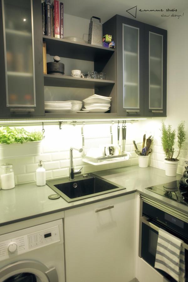 La cocina de Ana y Paul por emmme studio: vista cocina