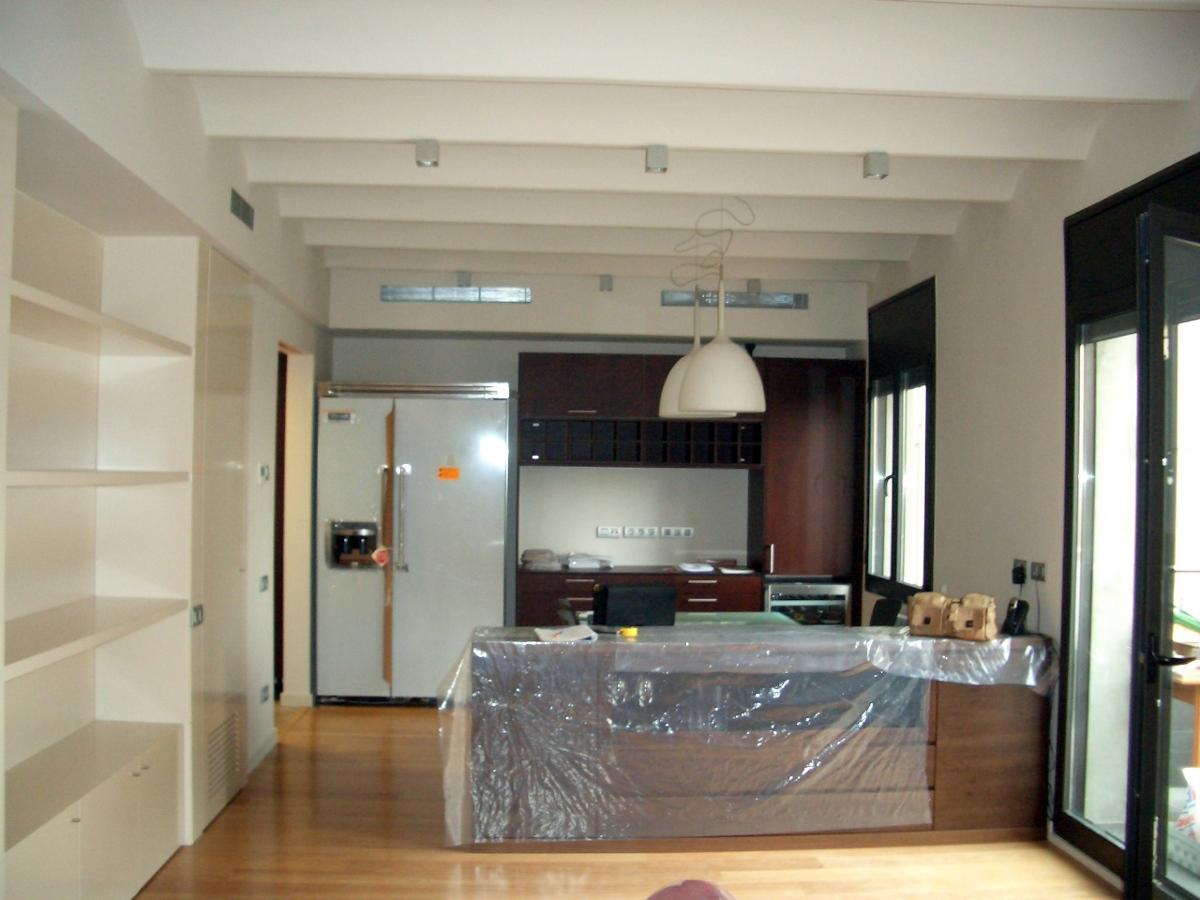 Vista comedor-cocina