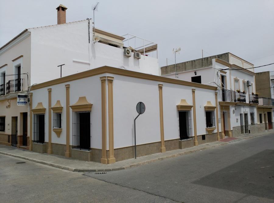Vista completa de fachadas. Estado Reformado