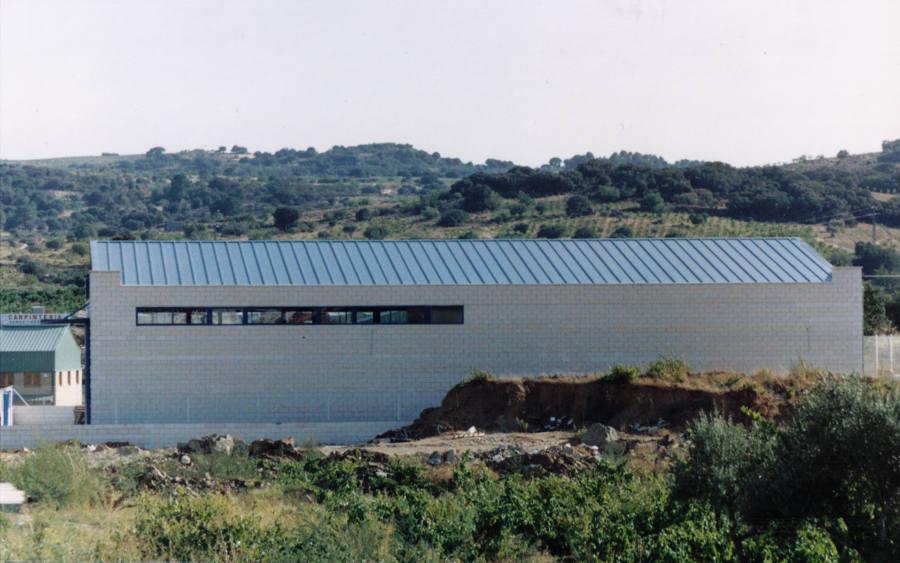 Vista de fachada lateral