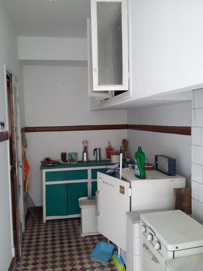 Vista de la cocina antigua.